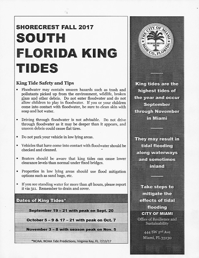 King Tide Safety and Tips 1