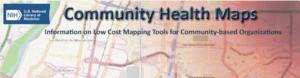 NIH Community Health Maps logo