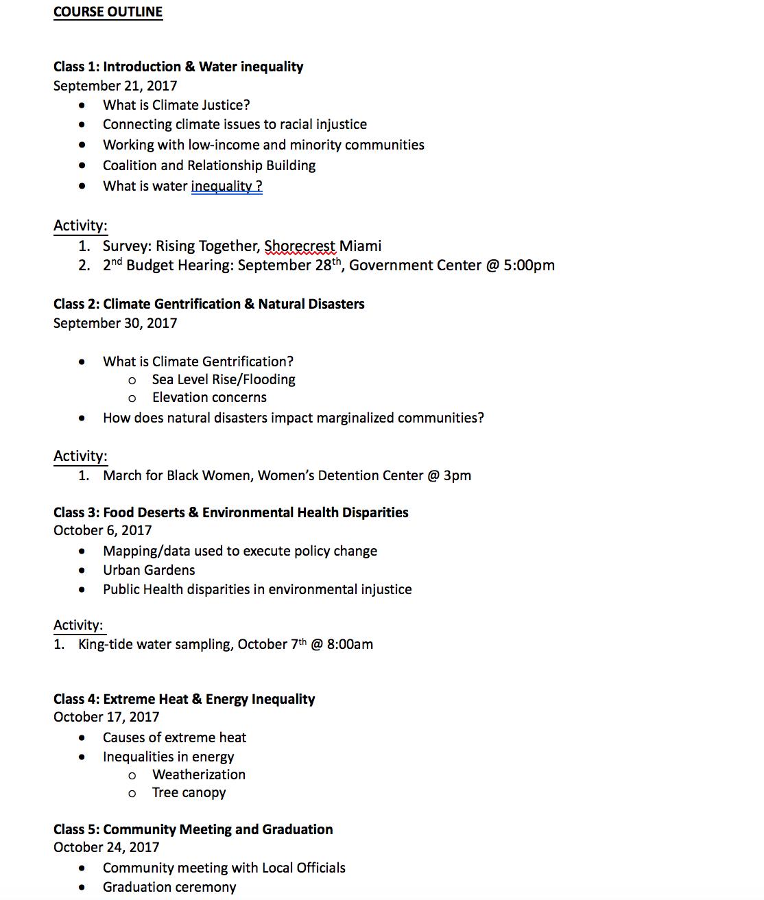 Syllabus Page 2